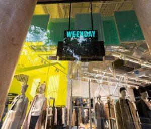 Weekday de H&M en Passeig de Gràcia (Barcelona)